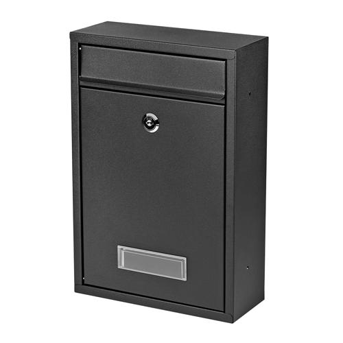 edelstahl design briefkasten stand postkasten zeitung zeitungsrolle wand wei ebay. Black Bedroom Furniture Sets. Home Design Ideas