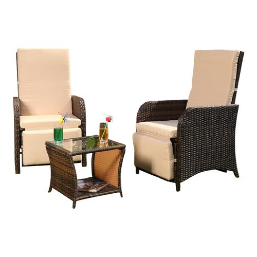 gartenset 2 sessel tisch polyrattan sitzgarnitur gartenm bel garnitur lounge ebay. Black Bedroom Furniture Sets. Home Design Ideas