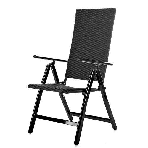 Polyrattan Lounge Sessel Schwarz ~ Polyrattan Gartensofa Lounge Sessel schwarz