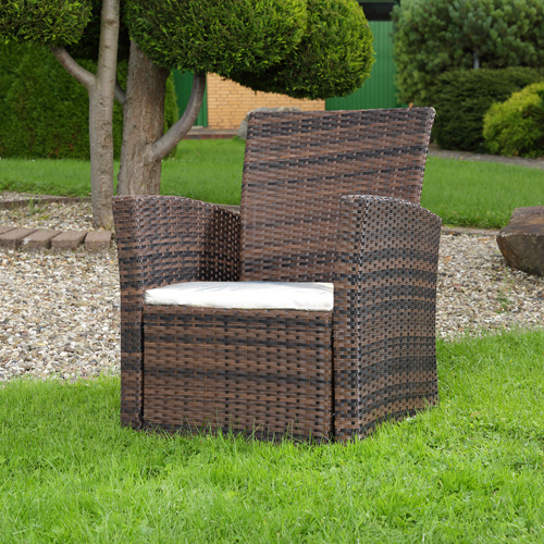 Outdoor sessel polyrattan