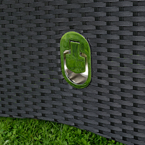 Gartenmobel Aus Europaletten Bauen Anleitung : Verstellbarer Garten Relaxsessel Polyrattan Gartenmöbel Balkon
