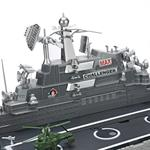 RC Destroyer Warship Battleship Aircraft Carrier Ship Remote Control Scale Model Pic:1