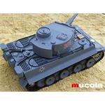 RC PANZER - GERMAN TIGER - 1:16 R/C SCHUßFUNKTION Pic:1