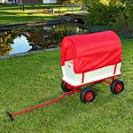 XXL Hand Cart Transport Trolley Wagon Plus Seat Area