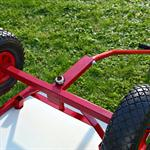 XXL Hand Cart Transport Trolley Wagon Plus Seat Area Pic:5