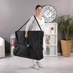 3 Zones Portable Massage Table Beauty Couch Bed  Black incl. Bag Pic:8