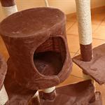 203 cm Tall Cat Scratching Post Tree Scratcher Pet Animal Furniture Sisal Pic:2