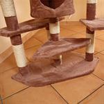 203 cm Tall Cat Scratching Post Tree Scratcher Pet Animal Furniture Sisal Pic:3