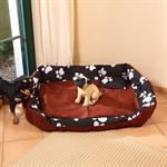 3-Piece XXL Dog/Cat Animal Pet Sofa Cushion Basket Bed+Filling