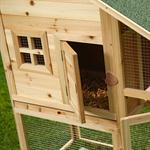 Rabbit Hutch Rabbits Bunnies Cage Small Pet Hutch Rabbit Cage Pic:3