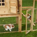 Rabbit Hutch Rabbits Bunnies Cage Small Pet Hutch Rabbit Cage Pic:4