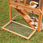 XL - 2 Stories - Small Animal Cage Rabbit Hutch Pic:2