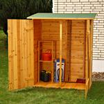 XXL Wooden Outdoor Garden Utility Tools Storage Cabinet Shelf Box Shed+2 Doors Pic:3