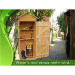 Geräteschuppen Holz - Gartengerätehaus