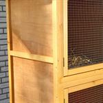 6 Box Bunny Rabbit/Guinea Pig Hutch House Cage Pen Wood Pic:2