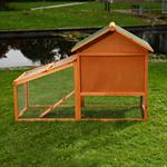 Bunny Rabbit/Guinea Pig 2-Tier Hutch Pet Animal Outdoor Cage Run House Pic:4