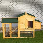 XXL Large Wooden Hen House Chicken Coop Poultry Ark Home Nest Run Coup