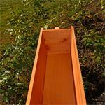 Holzsichtschutz mit Blumenkasten Pic:3