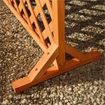 Wooden Flower Trellis Blind Outdoor Garden Screen Cover Fence + Planter Box Pot Pic:4