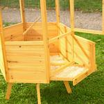 XXL 6-corner Voliere Aviary Birdcage Wooden Bird House Cage Pic:3