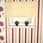 150x220 Bamboo Roman Shade Roller Blind Window Shades Wooden Blackout Jalousie
