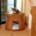 Katzenturm Katzenkorb Katzenmöbel Weide