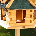 Aviary Volery Bird House Aviaries Nesting Box Wood Bird-seed Dispenser Feeder Pic:5