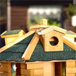 Aviary Volery Bird House Aviaries Nesting Box Wood Bird-seed Dispenser Feeder Pic:6