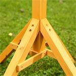 Vogelhausständer Ständer Holz imprägniert Pic:2
