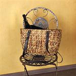 Women's Shopping Basket Shoulder Bag Shopper Satchel Hand Made Woven Sea Grass