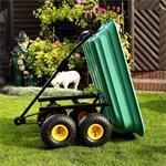 Trolley Rolling Cart Equipment Cart Wheelbarrow Handcart Dumpcart Pic:2