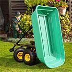 Trolley Rolling Cart Equipment Cart Wheelbarrow Handcart Dumpcart Pic:4