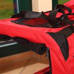 L Faltbare Hunde Transportbox in Rot Pic:1