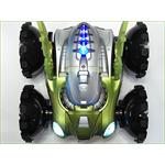 RC Amphibia Vehicle Car Boat Road/Water Remote Control Play Toy Green Pic:1