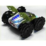RC Amphibia Vehicle Car Boat Road/Water Remote Control Play Toy Green Pic:3
