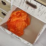 Highboard 8 Schubladen Shabby Stil braun/weiß Pic:3