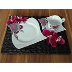 Table Placemat Kitchen/Dining Drip Mat Coaster Water Hyacinth Sea Grass