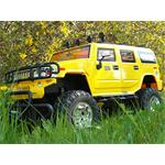 XXL 72cm RC Hummer yellow Light + Sound Effects 1:6 Jeep Truck Remote Control Pic:4