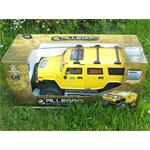 XXL 72cm RC Hummer yellow Light + Sound Effects 1:6 Jeep Truck Remote Control Pic:5