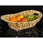 Fruit Bread Basket Bowl Kitchen/Dining Table Decoration Wicker