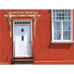 Holz Vordach Haustürüberdachung 120x150x129