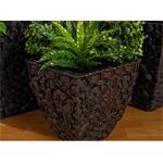 3 Flower Pot Set Planter Container Vase Tub Water Hyacinth Natural Pic:1
