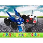 RC Amphibia Vehicle Car Boat Road/Water Remote Control Play Toy Blue Pic:2