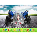 RC Amphibia Vehicle Car Boat Road/Water Remote Control Play Toy Blue Pic:3