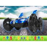 RC Amphibia Vehicle Car Boat Road/Water Remote Control Play Toy Blue Pic:5