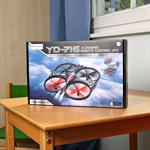 UFO RC Gyrodrone Quadcopter Drone Multicopter Multi Blade Quadrocopter Heli 4