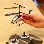 RC 3 Channel Mini Chopper 20 CM Helicopter Gyro Infrared IR Black Pic:3