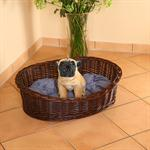L 70cm Dog/Puppy/Cat Pet Animal Bassinet Basket Sofa Sleeping Bed + Cushions