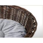 L 70cm Dog/Puppy/Cat Pet Animal Bassinet Basket Sofa Sleeping Bed + Cushions Pic:3