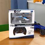 RC 3 Channel Mini Chopper 20 CM Helicopter Gyro Infrared IR Blue